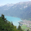 Lac de Brienz vu du Harder Kulm