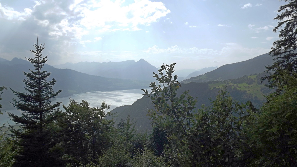 Le lac de Thoune vu du Harder Kulm