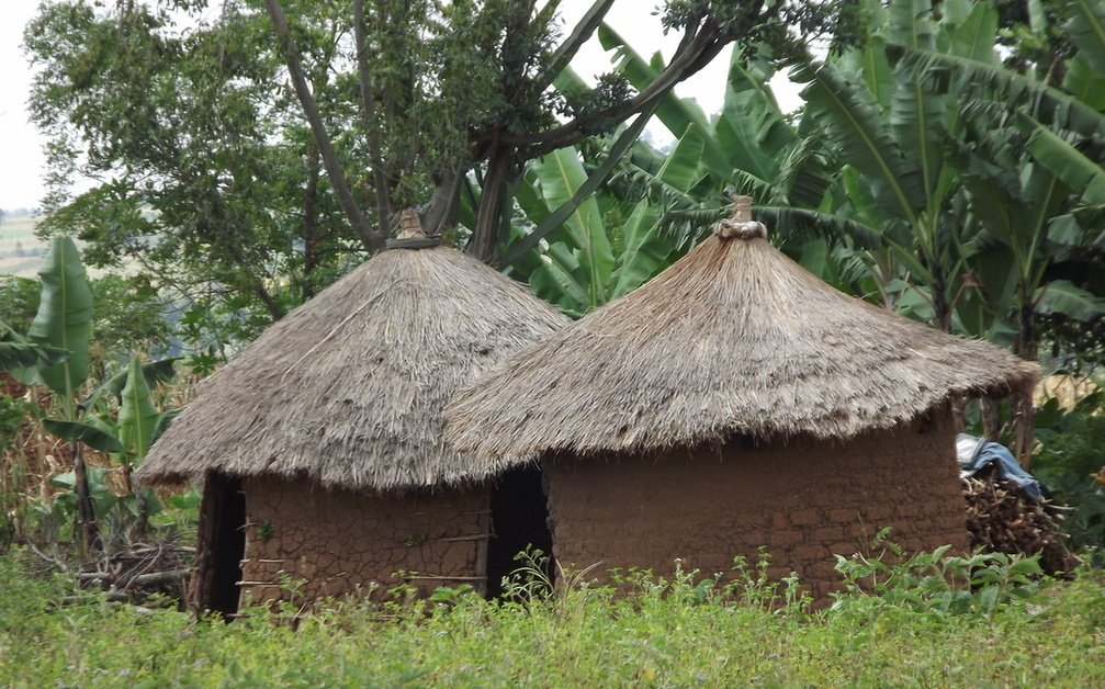 Habitat traditionnel près de Sironko